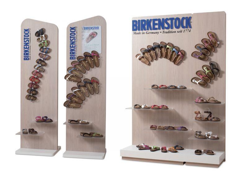 Birkenstock Espositore bifacciale