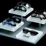 D&GEyewear Espositore occhiali modulare, materiali : legno e plexiglass
